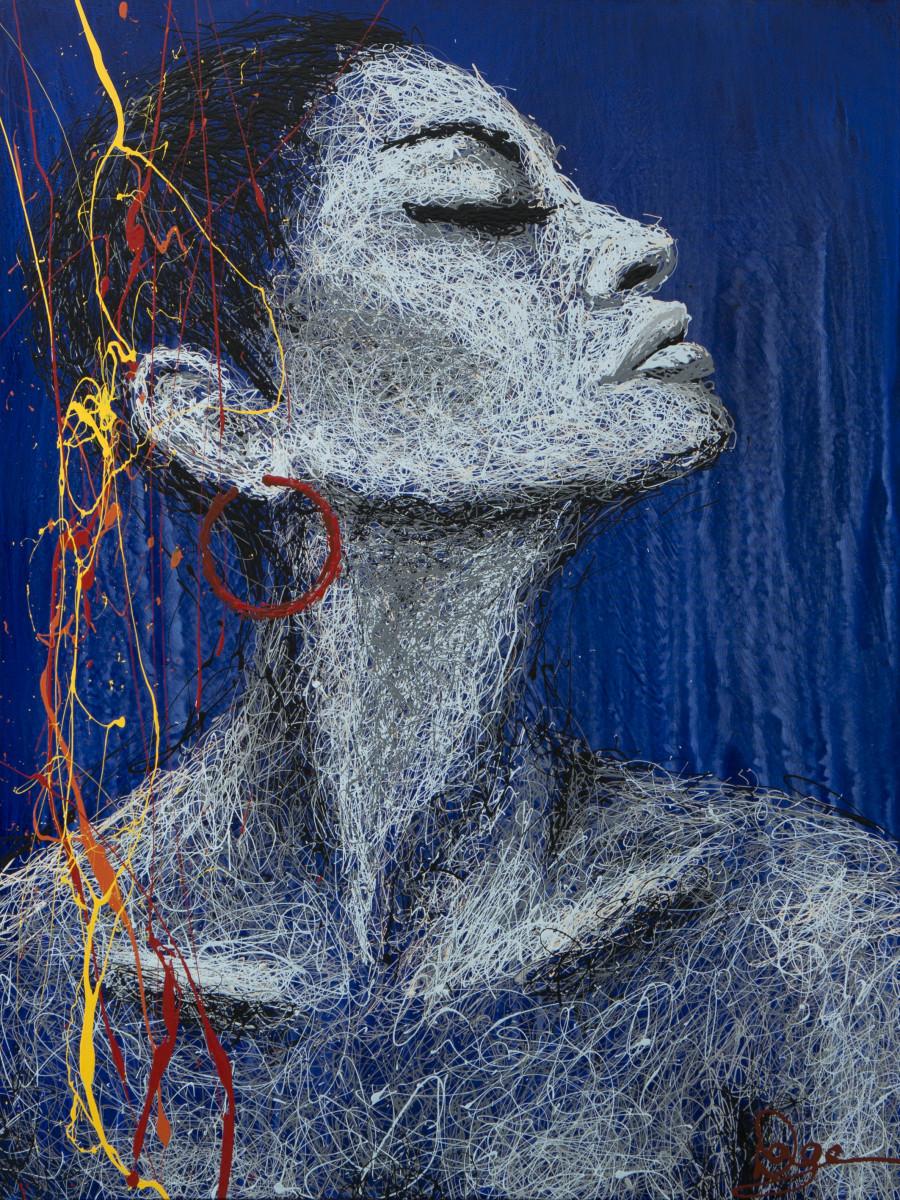 Dagearts femme de couleurs for Biographie artiste peintre